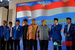 Benarkah PAN sakit hati sehingga tidak mengundang presiden Jokowi saat Rakernas