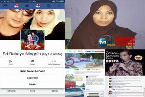 Hina presiden dan sejumlah parpol, Sri Rahayu Ningsih ( Ny Sasmita ) ditangkap polisi