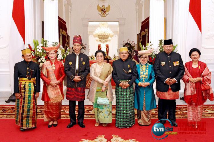 Moment langka, Jokowi foto bareng mantan Presiden RI