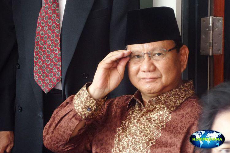 Prabowo murka,Yansen dipecat dari keanggotaan partai Gerindra.