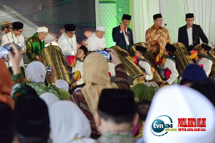 Jokowi : tidak ada toleransi bagi aliran radikal dan intoleran