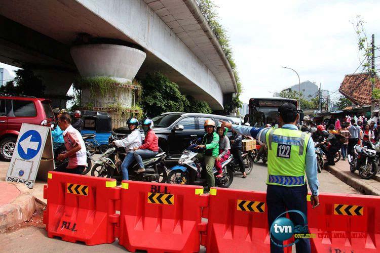 Sandiaga mengatakan telah ada penurunan kemacetan sebesar 56 persen setelah penataan di Tanah Abang