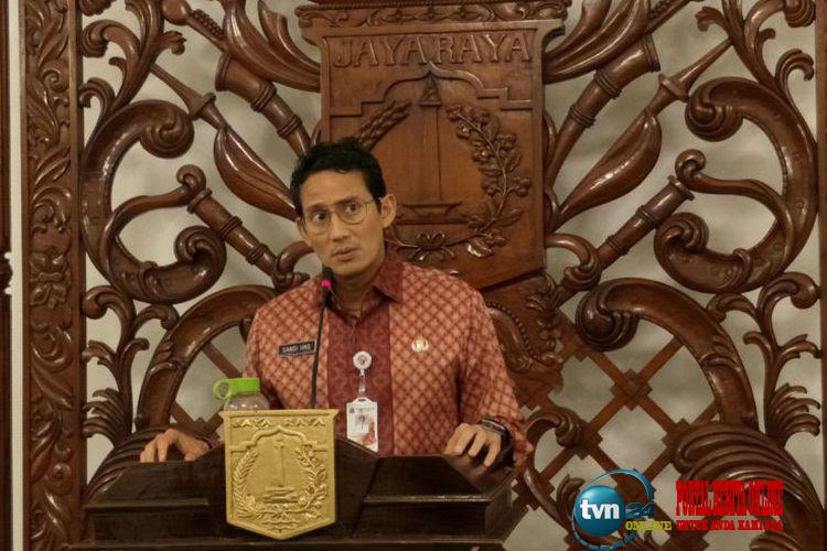 Sandiaga Uno akui warga dengan penghasilan dibawah UMP akan sulit membeli rumah DP 0 rupiah