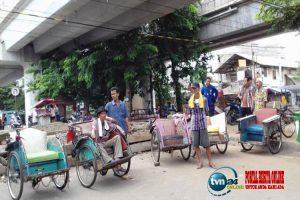 Anies di ingatkan jangan sampai muncul becak motor di Jakarta