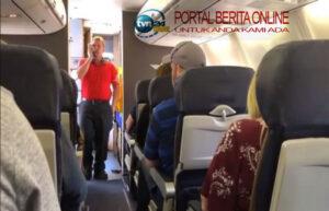 Ditolak Masuk Pesawat, Wanita Tanpa Masker Ngamuk dan Batuk Sembarangan