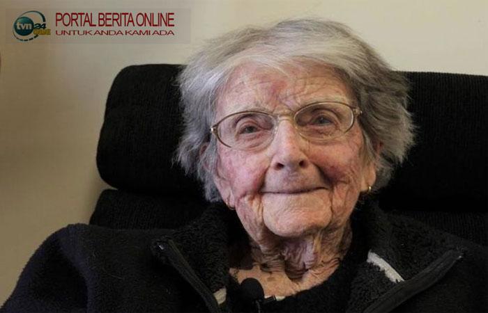 Selamat dari Perang Dunia dan Flu Spanyol, Nenek 107 Tahun Ini Tak Khawatir Covid-19