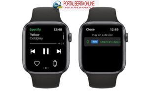 Apple Watch Kini Bisa Streaming Spotify Tanpa iPhone