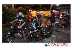 Terjaring Operasi Balap Liar, 30 Pemuda Diajak Salat Subuh Berjamaah